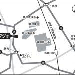 鉾田スタジオの地図