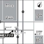 神栖スタジオの地図